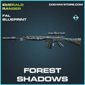 Forest shadows rare fall blueprint Call of Duty Modern Warfare Item
