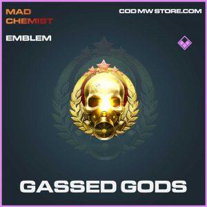 Gassed Gods emblem epic call of duty modern warfare item