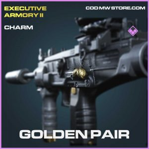 Golden Pair epic charm Call of Duty Modern Warfare Item