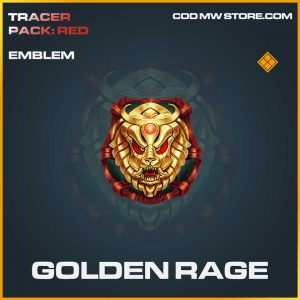 golden rage legendary emblem call of duty modern warfare item