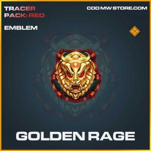 golden rage legendary emblem call of duty modern warfare item
