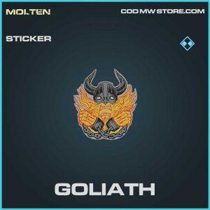 Goliath Rare sticker Call of Duty Modern Warfare item