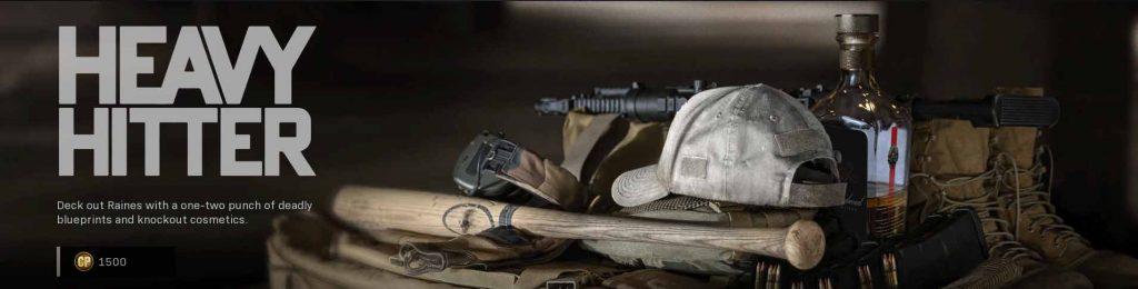 Heavy Hitter Operators & Identity call of duty modern warfare item bundle