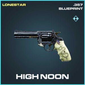 High Noon .357 Rare skin Call of Duty Modern Warfare