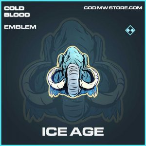 Ice Age Rare emblem call of duty Modern Warfare item
