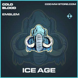 Ice Age Rare emblem call of duty Modern Warfare item