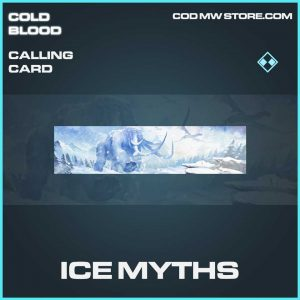 ice myths rare calling card call of duty Modern Warfare item