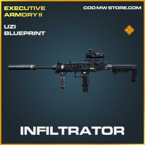 Infiltrator Uzi legendary Call of Duty Modern Warfare Item