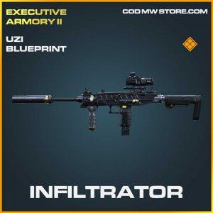 Infiltrator Uzi legendary Call of Duty Modern Warfare Item
