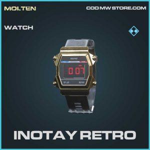 Inotay retro rare watch Call of Duty Modern Warfare item