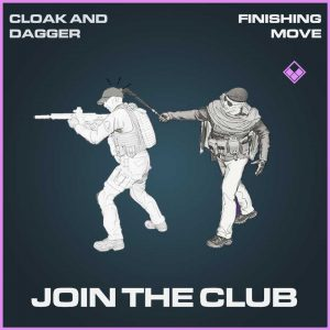 Join the club epic finishing move Call of Duty Modern Warfare Item Bundle