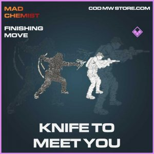 Knife to meet you finishing move epic call of duty modern warfare item
