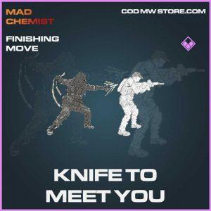 Knife to meet you finishing move epic call of duty modern warfare item