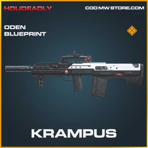 Krampus oden skin legendary blueprint call of duty modern warfare item
