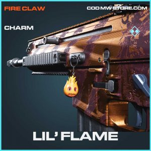 lil' flame rare charm call of duty modern warfare item