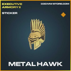 Metal Hawk legendary sticker Call of Duty Modern Warfare Item