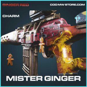 Mister Ginger rare charm call of duty modern warfare item