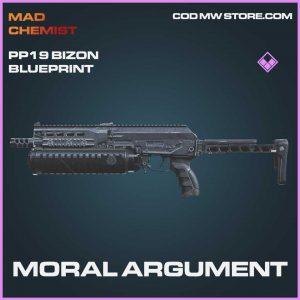moral argument pp19 bizon epic skin call of duty modern warfare blueprint
