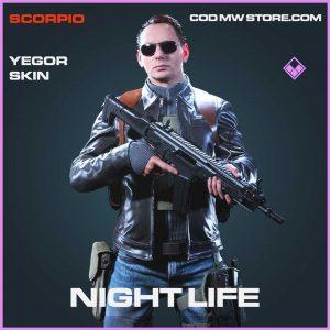 Night Life Epic Yegor Skin Call of Duty Modern Warfare Item