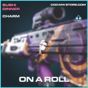 on a roll charm rare call of duty modern warfare item