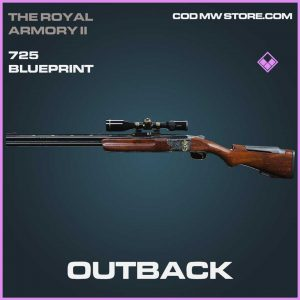 Outback 725 epic blueprint Call of Duty Modern Warfare Item