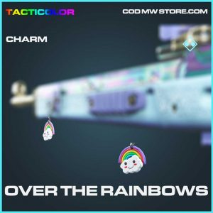 over the rainbows rare charm call of duty modern warfare item