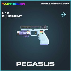 pegasus x16 skin rare blueprint call of duty modern warfare item