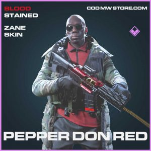 Pepper Don Red Zane Skin Epic call of duty modern warfare