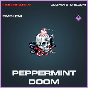 Peppermint doom emblem epic call of duty modern warfare item