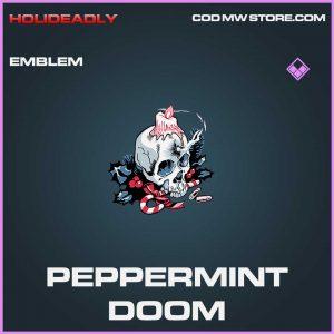 Peppermint doom emblem epic call of duty modern warfare item