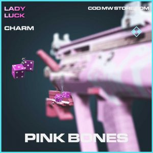 Pink Bones rare charm call of duty modern warfare item