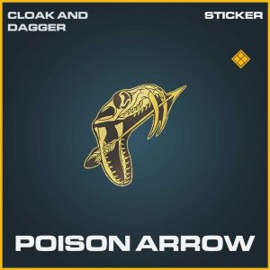 Poison Arrow Legendary Sticker Call of Duty Modern Warfare Item Bundle