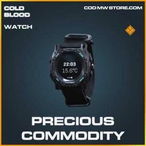 Precious Commodity legendary watch call of duty Modern Warfare item