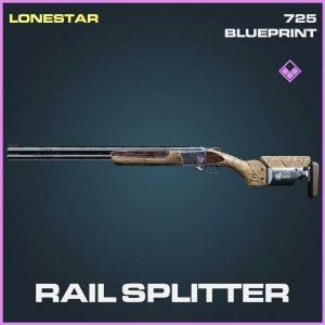 Rail Splitter 725 Epic skin Call of Duty Modern Warfare