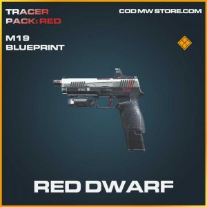 red dwarf m19 legendary skin call of duty modern warfare