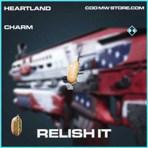 relish it rare charm call of duty modern warfare item