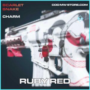 Ruby Red charm rare call of duty modern warfare item
