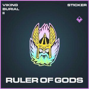 Ruler of Gods Epic Sticker Call of Duty Modern Warfare