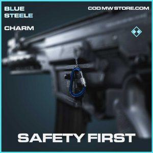Safety First rare charm call of duty modern warfare item