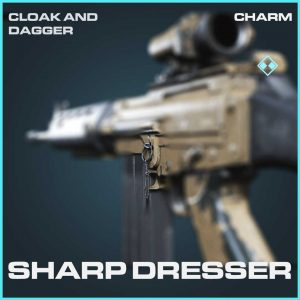 Sharp Dresser rare Charm Call of Duty Modern Warfare