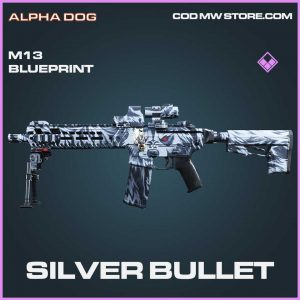 Silver Bullet epic m13 blueprint Call of Duty Modern Warfare Item