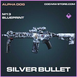 Silver Bullet epic m13 blueprint Call of Duty Modern Warfare Item