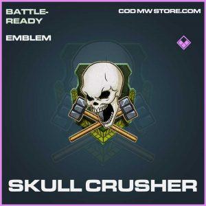 Skull crusher epic emblem Call of Duty Modern Warfare Item