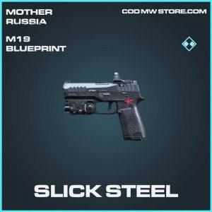 slick steel m19 blueprint rare call of duty modern warfare mother russia item