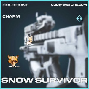 snow survivor charm rare call of duty modern warfare item