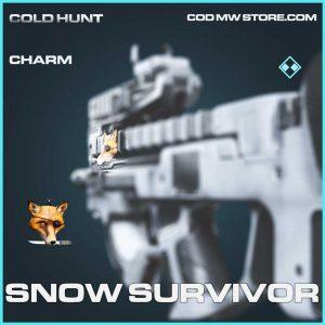 snow survivor charm rare call of duty modern warfare item