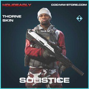Solistice thorne skin operator call of duty modern warfare item