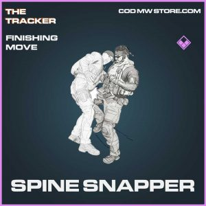 spine snapper finishing move epic call of duty modern warefare item