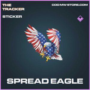Spread Eagle sticker epic call of duty modern warefare item