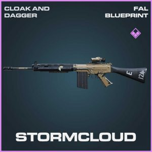 Stormcloud FAL blueprint Call of Duty Modern Warfare Item